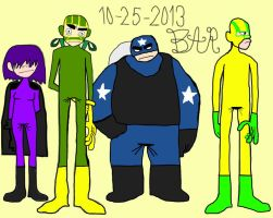 Kick-Ass and the Freaks by BARproductions