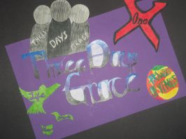 'Three Days Grace' Art Project by LMW-Creations