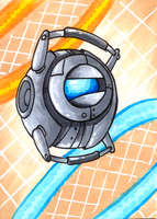 ACEO_Wheatley by Retromissile
