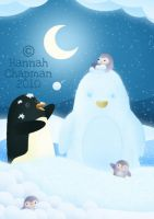 Snow Penguin by HannahChapman