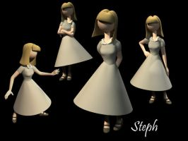 Steph Character Concept by AzraelleWormser