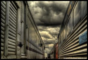 Train Cars by BelieveInTheDarkness