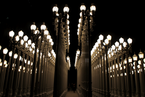 LACMA Urban Lights by linnieepoo