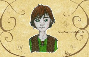 Hiccup, the Talking Fishbone by LindyArt