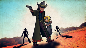The Texan - Showdown in the Outback by brothersdude