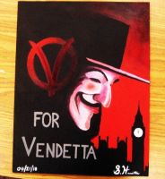 V For Vendetta by Sugashane09
