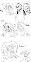OC Doodles 3 by WHATiFGirl