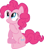 Pinkie Pie Contemplative by Synthrid