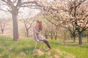 lost between spring and summer by Holunder