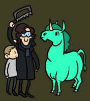 Sherlock Holmes: the Case of the Dissected Unicorn by Kaxen6