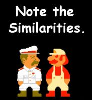 Mario and Stalin Comparison 2 by DrSVH