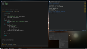 Openbox desktop on Fedora 15 by dodelria