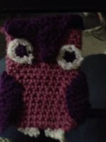 Owl Cell Phone Cozy by For-The-Darkspear
