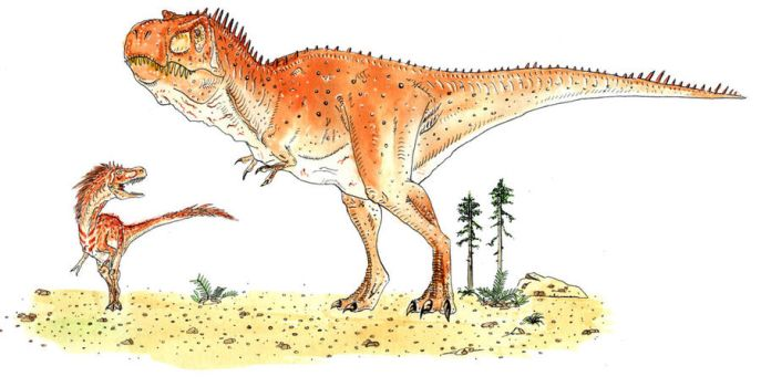 T rex and son by camiloandres