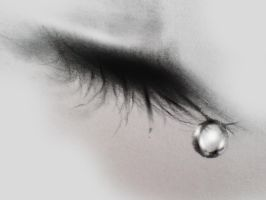 Crying eyes by shadagishvili