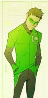 Little League..Hal Jordan by CoranKizerStone