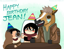 HAPPY BIRTHDAY JEAN by Hat-Kid
