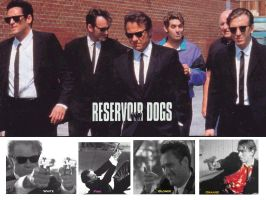 wallpaper for reservoir dogs by requiemngai