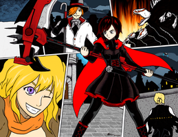 RWBY (Color) by fishnspice