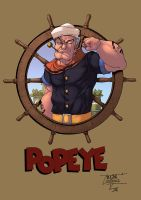Popeye color by logicfun