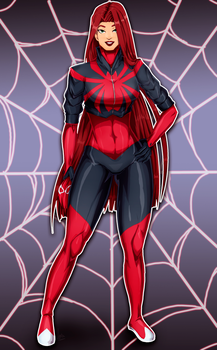 Scarlet Spider - Mary Jane by JeyraBlue