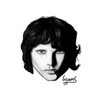 Quick Draw #25 - Jim Morrison I by Sheep-MooseArt