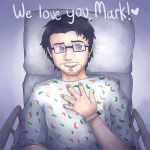 Get Well Soon, Mark! by Luminovia