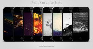 iPhone 4 Mixed Wallpack by kirill0v