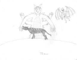 Folk Creatures: French by SMS00