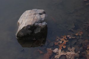 Big Rock in the Water by Sheighness
