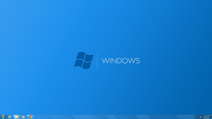 CleanDows Desktop featuring-Cyan by Softboxindia