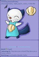 Oshawott Journal Skin by AbyssinChaos