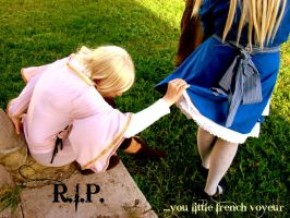 Last minute of my life by Hancee