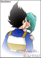 Last kiss? by dbzsisters