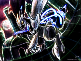 Black Kyurem by Haychel