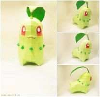 Chikorita by Nekoknight