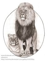 Art For ALS Lions Club Lion! by FlyingFancy1