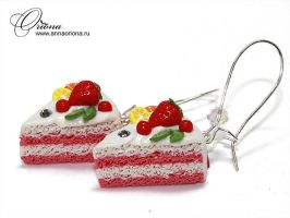 Sweet cake by OrionaJewelry