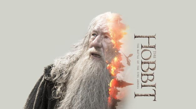 The Hobbit - Gandalf Wallpaper by TributeDesign