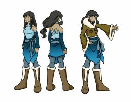 Korra (adult concept) by maryfgr23