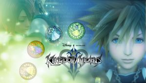 Kingdom Hearts Desktop Wallpaper (1900x1080) by echosong001