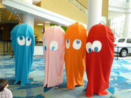 Pac Man Ghost Cosplay by Oteliex
