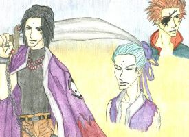 Saiyuki Three Gods by ReiAndSanzo
