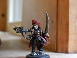 Commissar Kittipa by MiesterZef