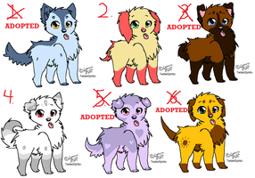 FREE ADOPTABLES by Child-Of-Hades