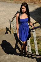 Tara - blue dress below 1 by wildplaces