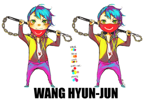 oc: wang hyun-jun by euphorics