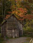 Iroquois bark house by jamberry-song