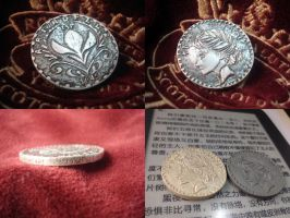 [Frozen] Arendelle Coin by JacieNL