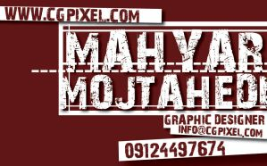 My Business card by jhukas